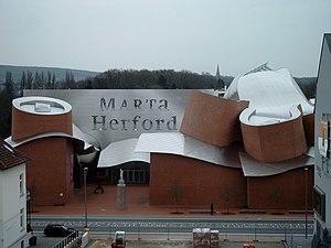 MARTa Herford - Image: Martadach