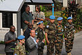Martin Kobler, new SRSG in the D.R. Congo, arrives at MONUSCO HQ in Kinshasa to assume his duties, 13 August 2013. (9501215783).jpg