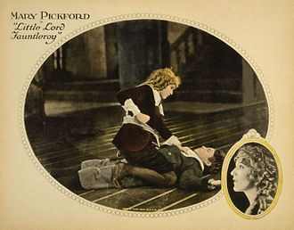 Little Lord Fauntleroy - Lobby card from the 1921 film adaptation starring Mary Pickford
