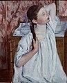Mary Cassat. Girl Arranging Her Hair (1886) (26571825949).jpg