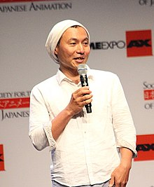Description de l'image Masaaki Yuasa at Anime Expo 2013.jpg.