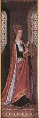 Master Of The Legend Of St. Ursula - Ecclesia (Church) - WGA14575 (cropped).jpg