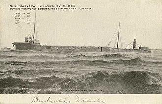 Mataafa Storm - The wreck of Mataafa.
