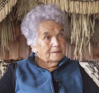 Matekino Lawless New Zealand weaver