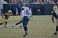 Matt Hasselbeck (8) watches his pass head for the target.jpg
