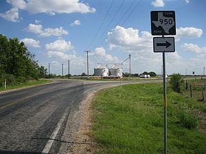Matthews, Texas - Image: Matthews TX FM 950 Sign