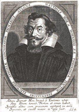 Matthias Hoë von Hoënegg