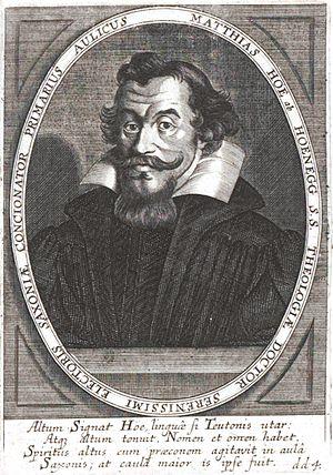 Matthias Hoë von Hoënegg - Matthias Hoë von Hoënegg