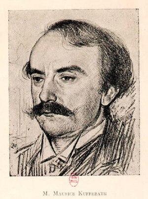 Maurice Kufferath - Image: Maurice Kufferath