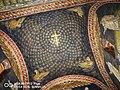 Mausoleo di Galla Placidia - soffitto centrale con il chiasmo.jpg