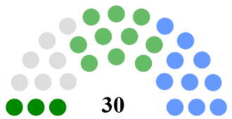 Mayo County Council - Image: Mayo County Council Composition
