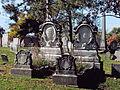 McClure (Rebecca and Francis), Lebanon Church Cemetery, 2015-10-23, 02.jpg