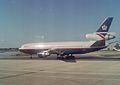 McDonnell Douglas DC-10-30 G-BHDJ British Airways, London Gatwick (LGW) - UK, August 1990. (5717587125).jpg