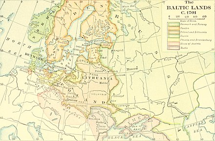 "The ""Baltic lands"" around the Baltic Sea Mediaeval and modern history (1920) (14793687963).jpg"