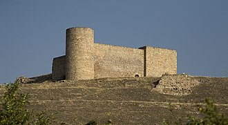 Ghālib ibn ʿAbd al-Raḥmān - The remains of the castle of Medinaceli today.