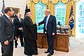 Meeting of Archbishop Elpidophoros with President Trump.jpg