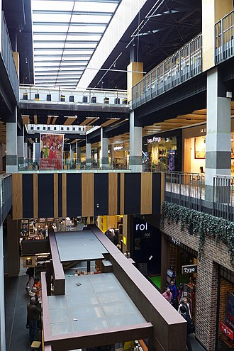 Melbourne Central Shopping Centre - Void during renovation in 2017