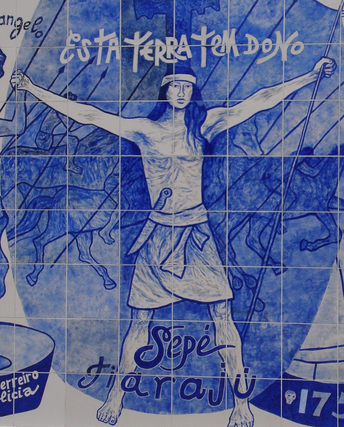 Sepé Tiaraju Wikipédia A Enciclopédia Livre