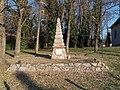Memorial in the Lutheran church garden, 2019 Cinkota.jpg