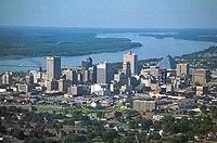Memphis skyline from the air.jpg
