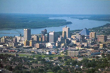 Memphis skyline from the air.jpg