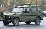Mercedes-Benz Geländewagen Norwegian military fq