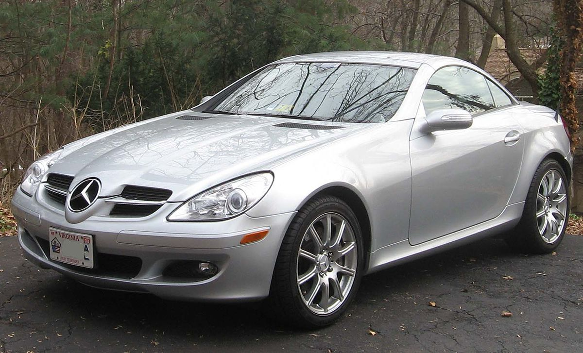 Mercedes benz slk class r171 wikipedia for Mercedes benz two seater