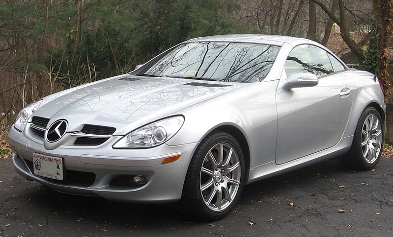 File Mercedes Benz Slk R171 Jpg Wikimedia Commons