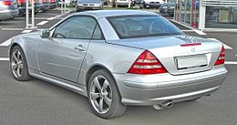 Mercedes SLK200K Facelift rear.JPG