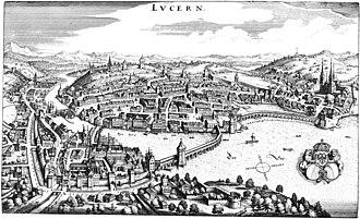Lucerne - Lucerne in 1642