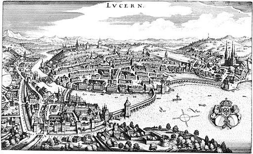 Merian Luzern 1642