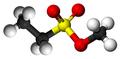 Methyl ethanesulfonate3D.png