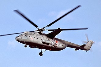 Mil Mi-6 - A Mil Mi-6 of Soviet Air Forces in flight