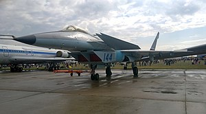 Mikoyan Project 1.44 - MiG Project 1.44 at MAKS-2015 air show