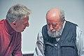 Michel Butor et Roger-Michel Allemand.jpg
