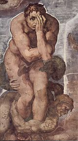 Michelangelo Buonarroti - The Last Judgment - detail 010.jpg