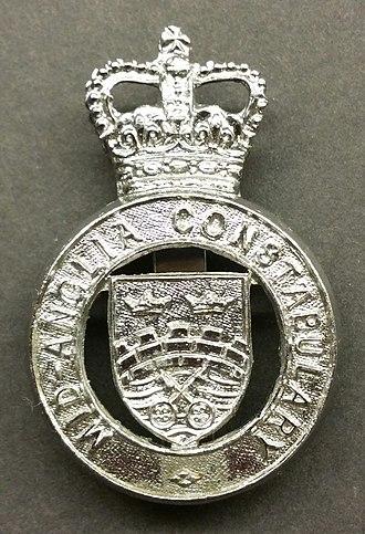 Mid-Anglia Constabulary - Image: Mid Anglia Constabulary Cap Badge 2
