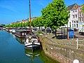 Middelburg - Bellinkbrug - View WSW on Binnenhaven, Londensekaai & Bierkaai.jpg