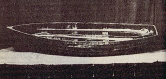 R v Dudley and Stephens - Photograph of the lifeboat exhibited at Falmouth in 1884.