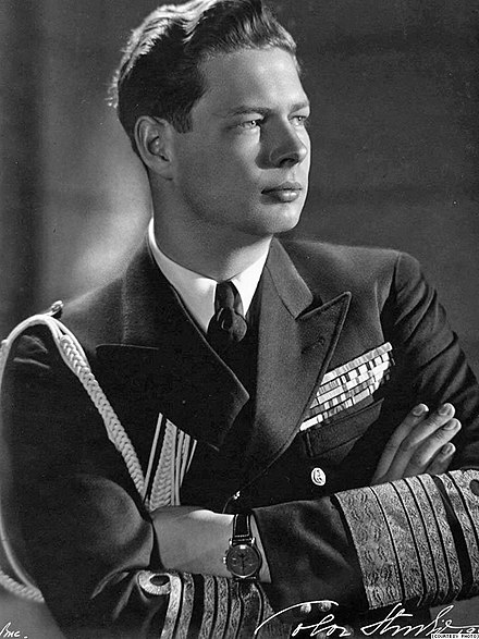 King Michael I of Romania led the coup that put Romania on the Allied side. Mihai.jpg