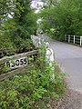 Mill Lane crossing the Lymington River east of Brockenhurst, New Forest - geograph.org.uk - 170820.jpg