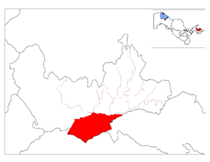 Mingbuloq District location map.png