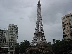 Mini Eiffel Tower at Parle Point in Surat.jpg