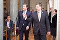 Ministru prezidenta Valda Dombrovska tikšanās ar Apvienotās Karalistes Ministru prezidentu Deividu Kameronu (8514465639).jpg