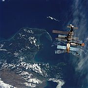 Soviet space station Mir was the world's most advanced space station until ISS