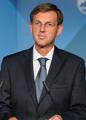 Prime Minister of Slovenia - Image: Miroslav Cerar (cropped)