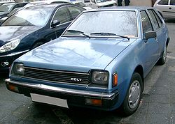 Mitsubishi Colt - Wikipedia, the free encyclopedia