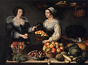 The Fruit and Vegetable Seller, 1631