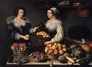 La Marchande de fruits et légumes