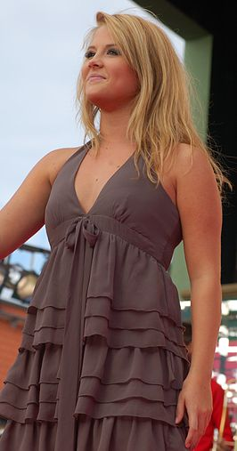 Molly Sandén in 2008